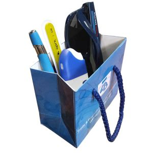 Our promotional Micro Rope Handle Gift Bags make great giveaways for events.