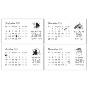 Midi Calendar Pods