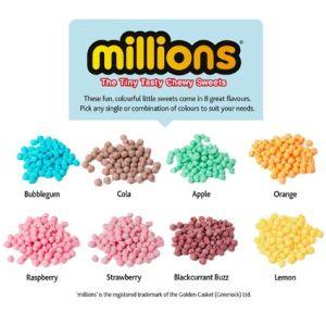 Large Millions Tubes