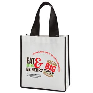 Branded shopping bags for exhibitions