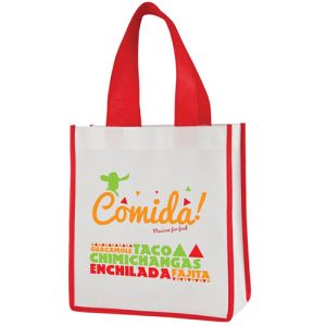 Promotional Mini Shopper Bags with company designs