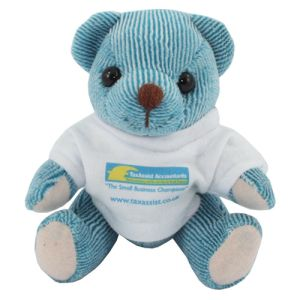 Mini Candy Bears in T Shirts in Blueberry