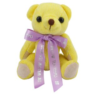 Mini Candy Bears with Bow in Lemon