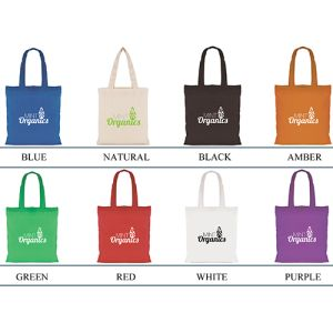 Which colour will you choose from your promotional mini colour shopper bags?