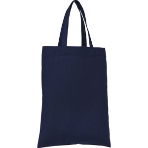 Mini Cotton Gift Bags in Navy