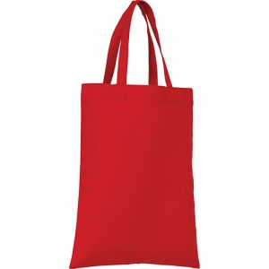 Mini Cotton Gift Bags in Red