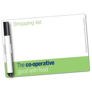 Personalised Mini Dry Wipe Magnets with Pen Office Merchandise
