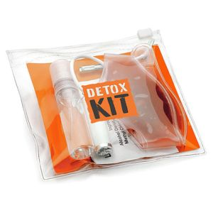 Mini Hang Over Kits in Orange
