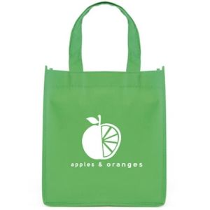 These eco-friendly mini non woven gift bags make great giveaways for an environmental campaign