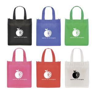 These small printed non woven gift bags are available in a range of colours - which will you choose?