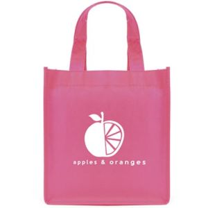 Choose from 10 different colours - there's a printed mini non woven gift bag to suit every business!