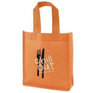 These promotional mini non woven gift bags are great for long-lasting brand awareness