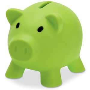 Mini Piggy Banks in Green