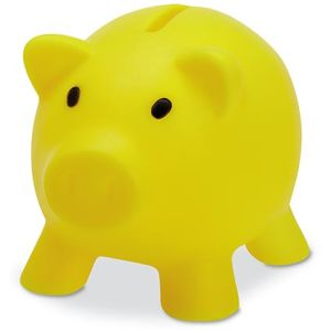 Mini Piggy Banks in Yellow