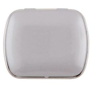 Mini Rectangle Mint Tins in Light Grey