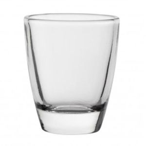 Promotional Mini Tot Curved Shot Glasses for Hotel Merchandise