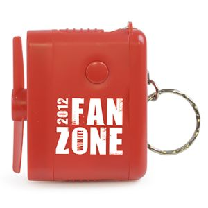 Promotional Keychain Fans are practical Business Gifts for a range of campaigns