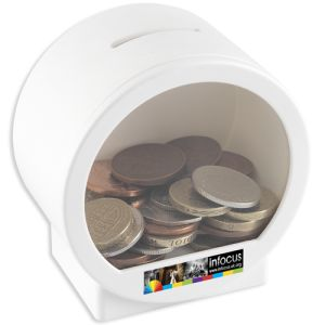 Money Pods in White
