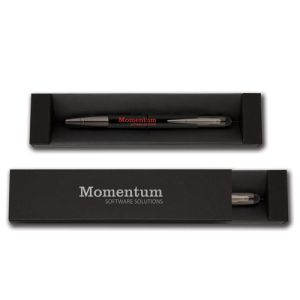 Choose from laser engraved or spot colour printing with this smart branded stylus ballpoint pen
