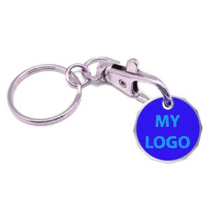 Promotional New Shape Printed Trolley Coins giveaways