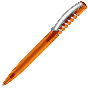 Promotional New Spring Clear Pen with company logos