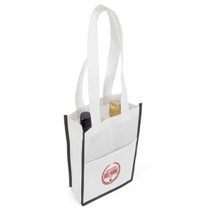 These printed Non Woven Double Bottle Bags make great event & exhibition giveaways!