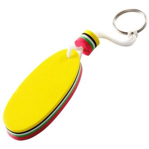 Oval Foam Floating Key Holder