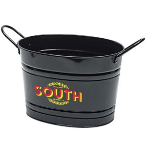 Oval Metal Buckets