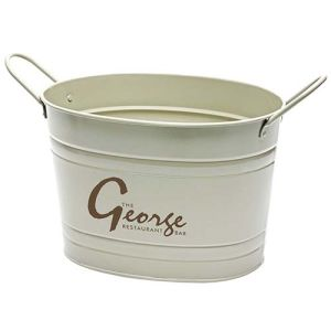 Promotional Oval Metal Buckets for Events