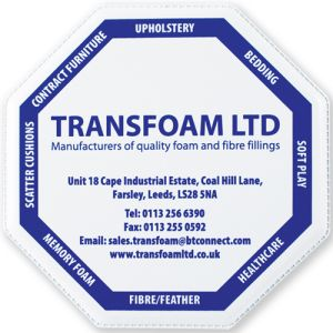 PVC Welded Octagonal Coasters