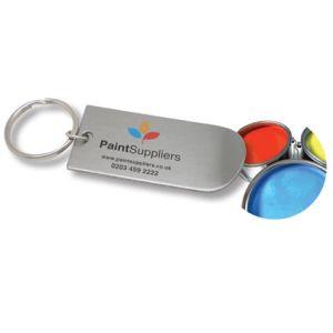 Paint Tin Lid Lifter Keyrings