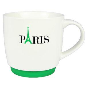 Paris Silicon Base Mugs