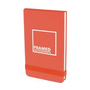 Promotional Soft Touch Jotter Notebooks for Office Stationery