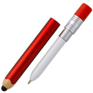 Pencil Shaped Stylus Ballpens