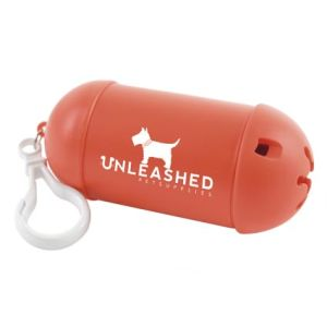 These promotional Pet Waste Bag Dispensers make a great giveaway option for pet-themed businesses