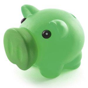 Petit Plastic Piggy Bank