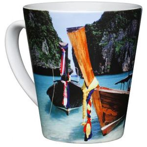 Promotional Photo Print Regular Latte Mug for Business Gifts
