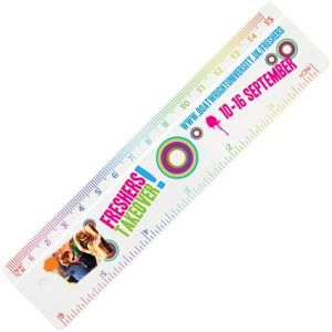 Corporate branded rulers for giveaways