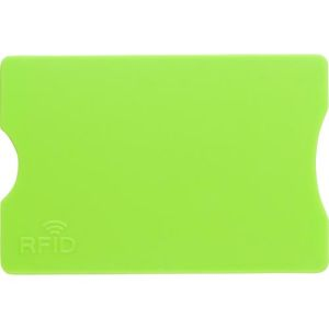 Promotional RFID Card Holders are ideal merchandise for promoting safe banking campaigns