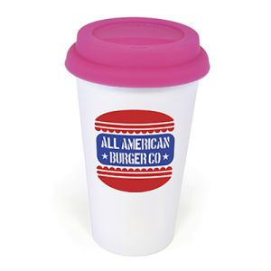 Personalised Plastic Coffee Cups for Corporate Advertising