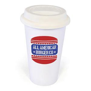 Branded Takeout Cups for Campaign Merchandise