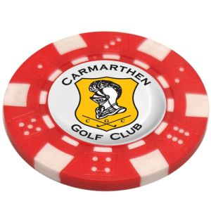 Poker Chip Golf Ball Markers