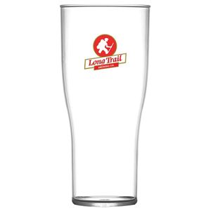 Polycarbonate Tulip Pint Glasses in Clear