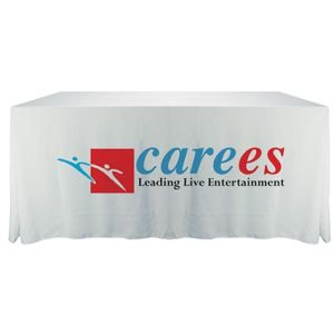 Branded Table cloths for event advertising