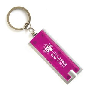 Portland Torch Keyring in Pink