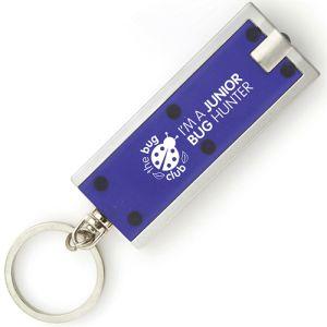 Custom torch keychains with company logo