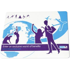 Precision Soft Top Mouse Mat for Office Merchandise