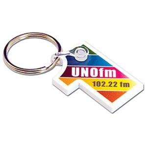 Any Shape Printed Acrylic Keyrings