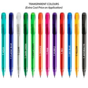 Promotional Pens for university giveaways colours