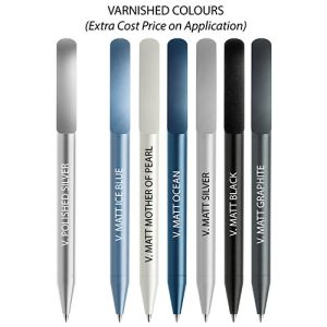 Custom printed pens for councils colours